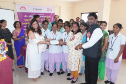 Meera Nursing School Scholarship Distribution Event