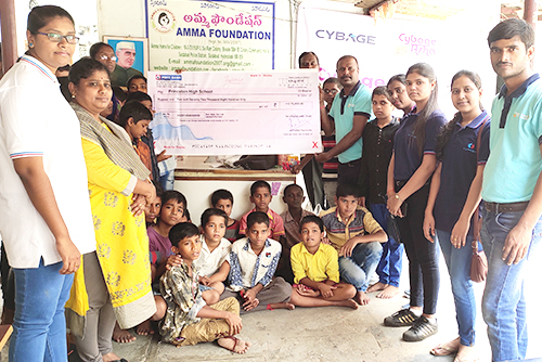 2019-08-10 CybageKhushboo supports Amma foundation